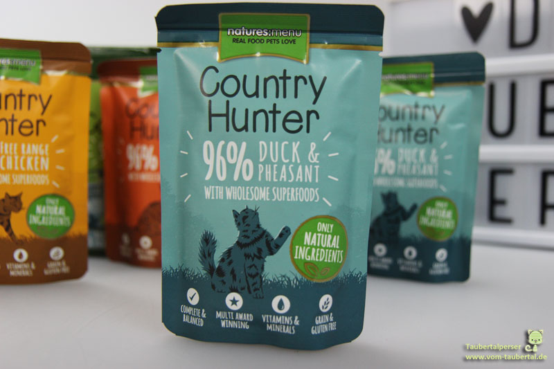 Country Hunter, Katzenfutter, Taubertalperser, Katzenfuttertest, Katzenblog