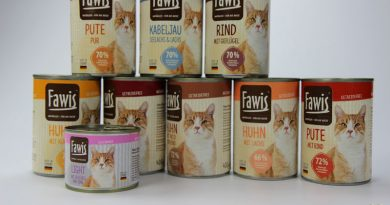 Fawis, Katzenfutter, Petcura, Taubertalperser, Katzenfutter im Test