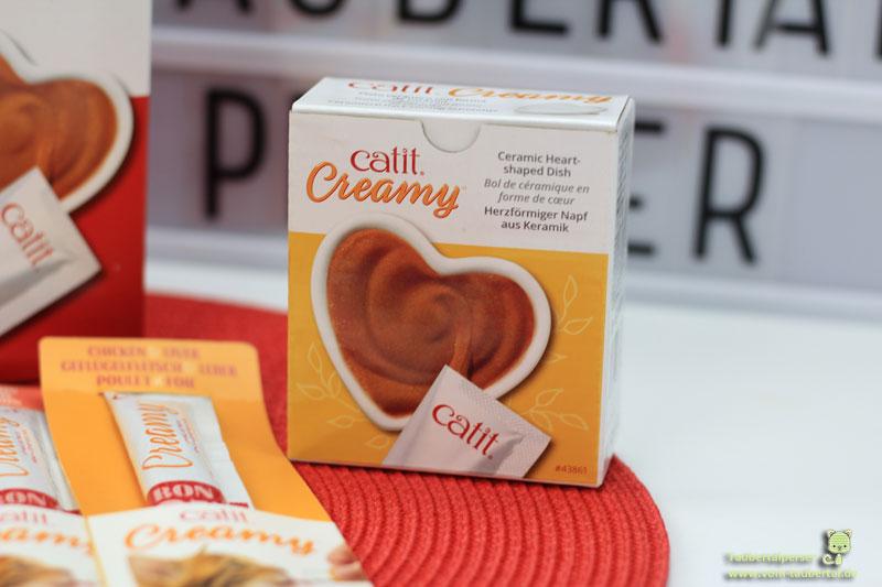 Catit Creamy, Taubertalperser, Keramikherz