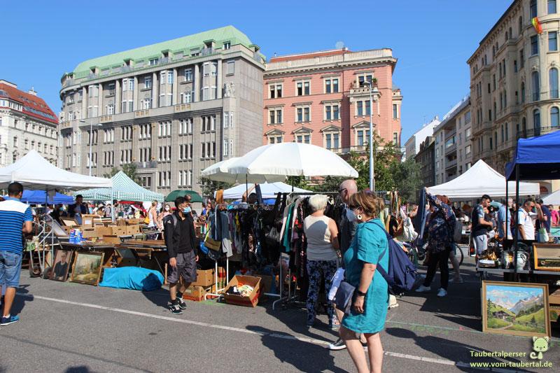 Wien, Wienzeile, Flohmarkt