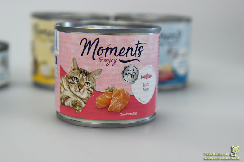 Moments, Katzenfutter, Futtertest, Taubertaplerser