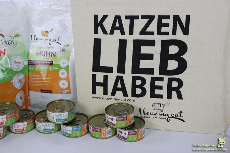 I love my Cat, Katzenfuttertest, Taubertalperser, Katzenfutter, Insekt, Marsapet