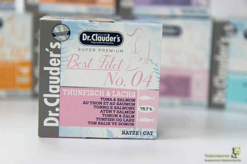 Dr. Clauders Filet Ergänzungsfutter, Taubertalperser, Katzenblog