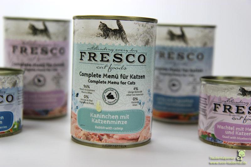 Fresco cat food, Nassbarf, Katzenfutter, Taubertalperser