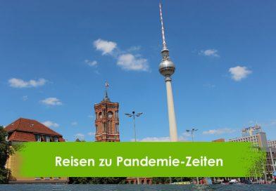 Berlin, Funkturm, Reisen zu Pandemiezeiten