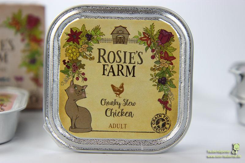 Katzenfutter Rosie's Farm Chicken, Taubertalperser