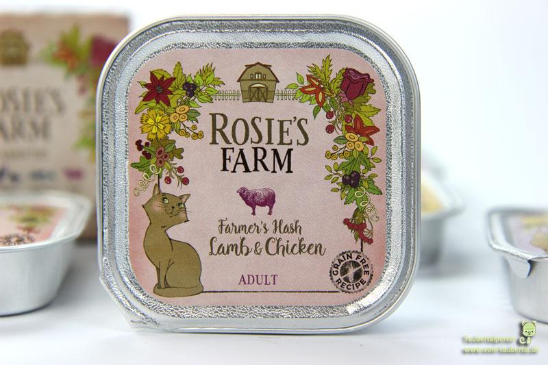 Katzenfutter Rosie's Farm, Lamm und Hühnchen, Taubertalperser