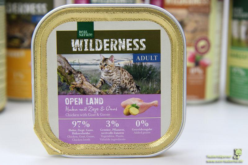 Real Nature Wilderness Open Land Katzennassfutter
