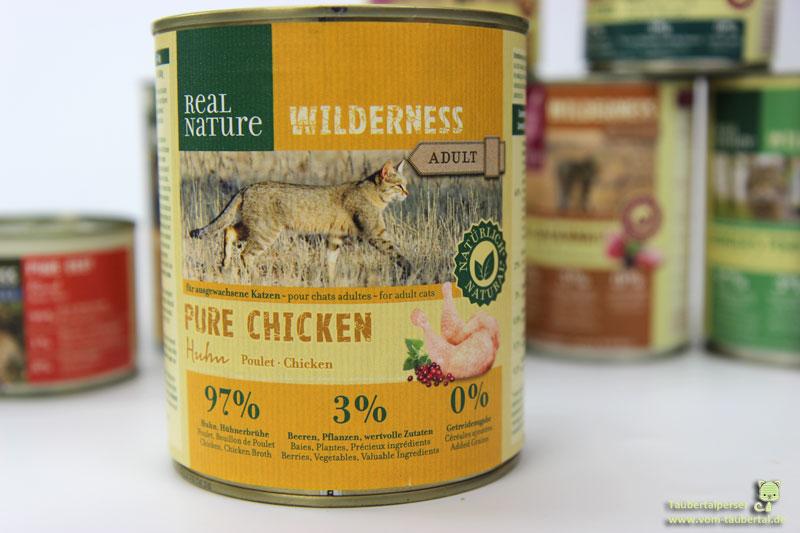 Real Nature Wilderness Pure Chicken Katzennassfutter