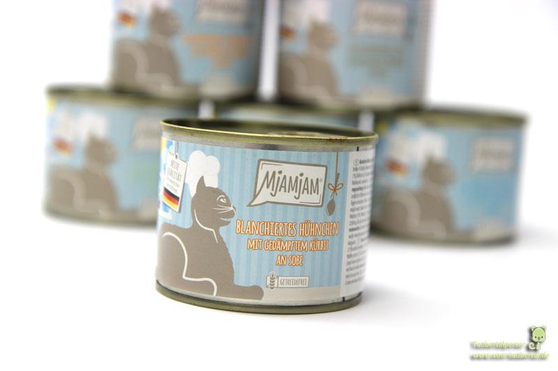 Mjamjam an Soße Katzenfutter Taubertalperser