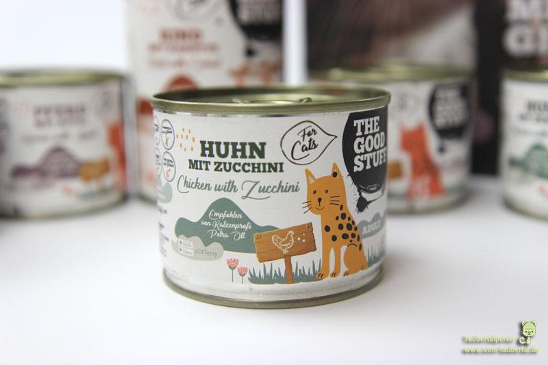 The Goodstuff Katzenfutter Huhn mit Zucchini